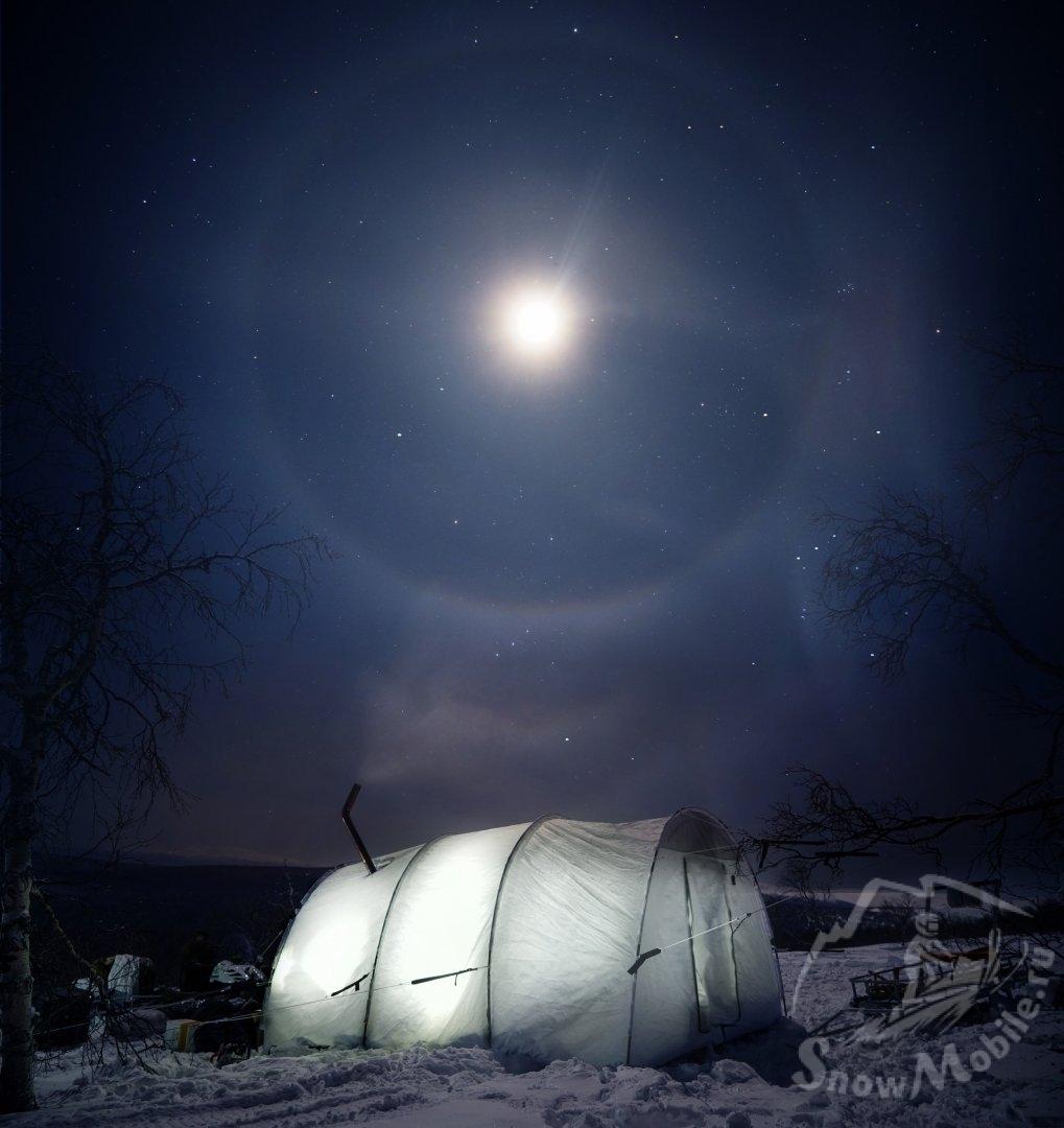 Минус 56 градусов; Лунное гало на перевале Дятлова.jpg