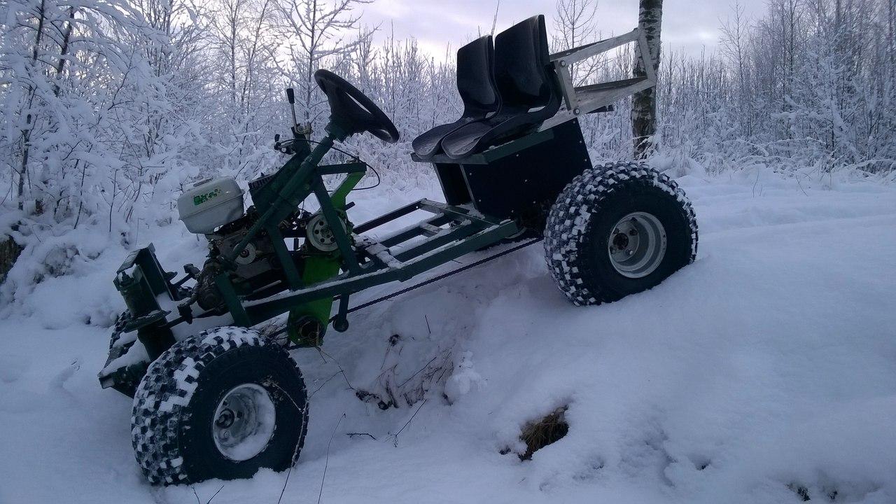 Снегоход своими руками из мотоблока 88