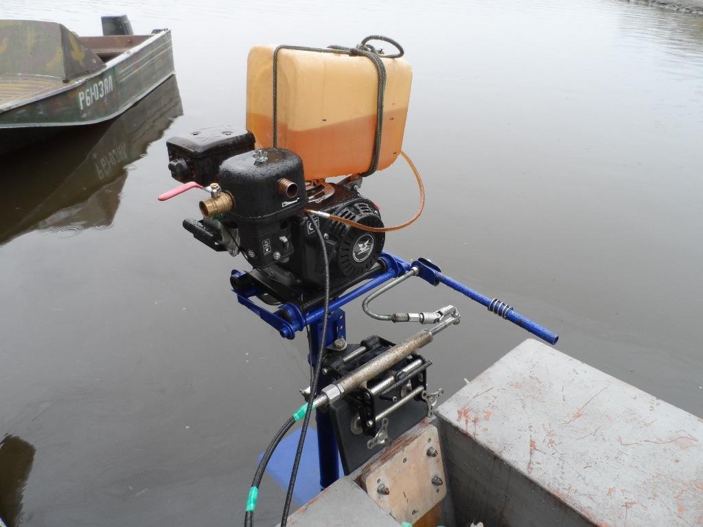 Как самому сделать лодочные моторы 130