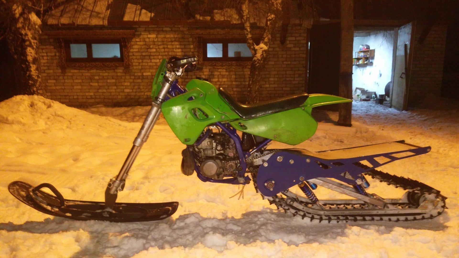 Снегоходы из скутеров своими руками 582