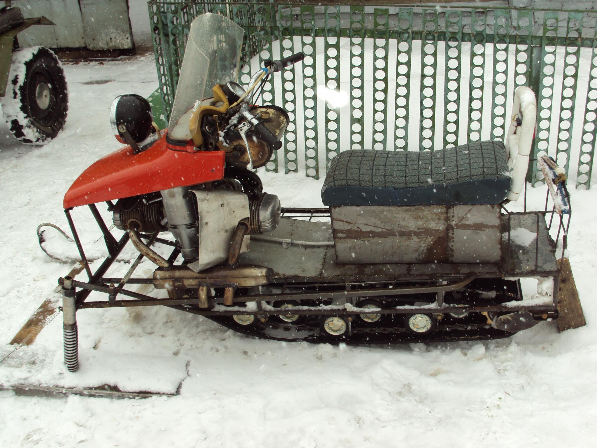 Как сделать гусеницу на самодельный снегоход 21