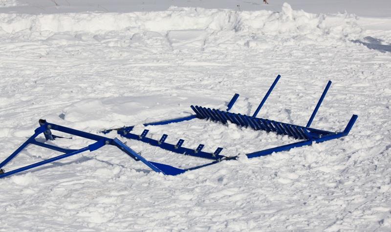 Борона для лыжной трассы своими руками