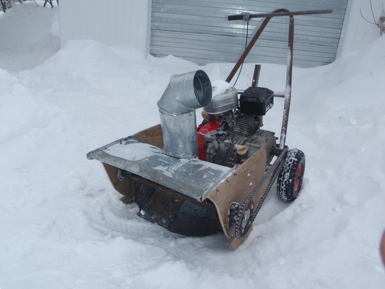Снегоуборочная машина своими руками: достойная альтернатива 42