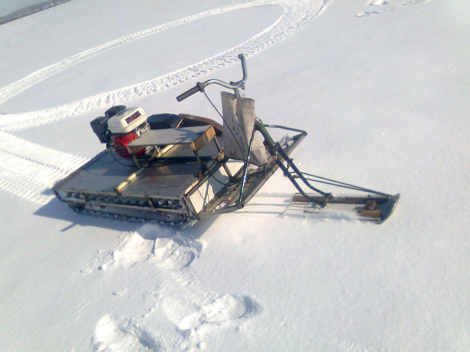 Снегоходы палочники своими руками 519