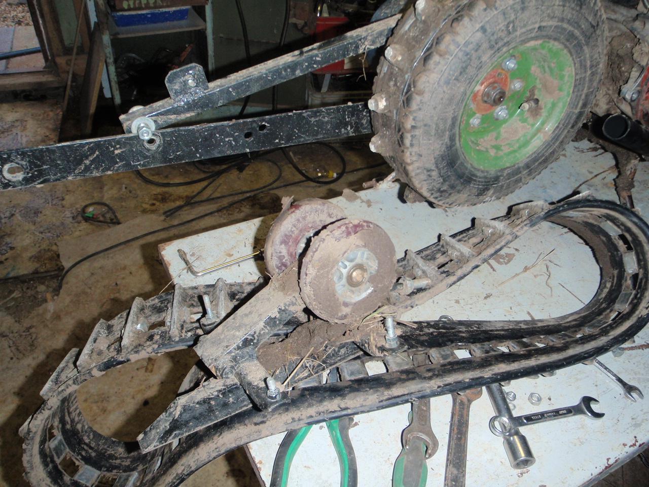 колесо гусеничное для нива схема чертеж