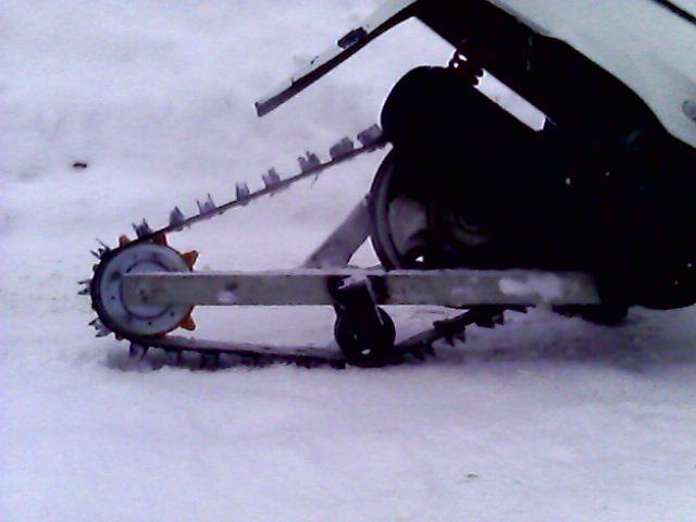 Гусеница на скутер 99