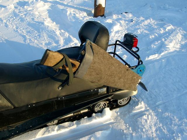Крепление для ружья на снегоход своими руками 62