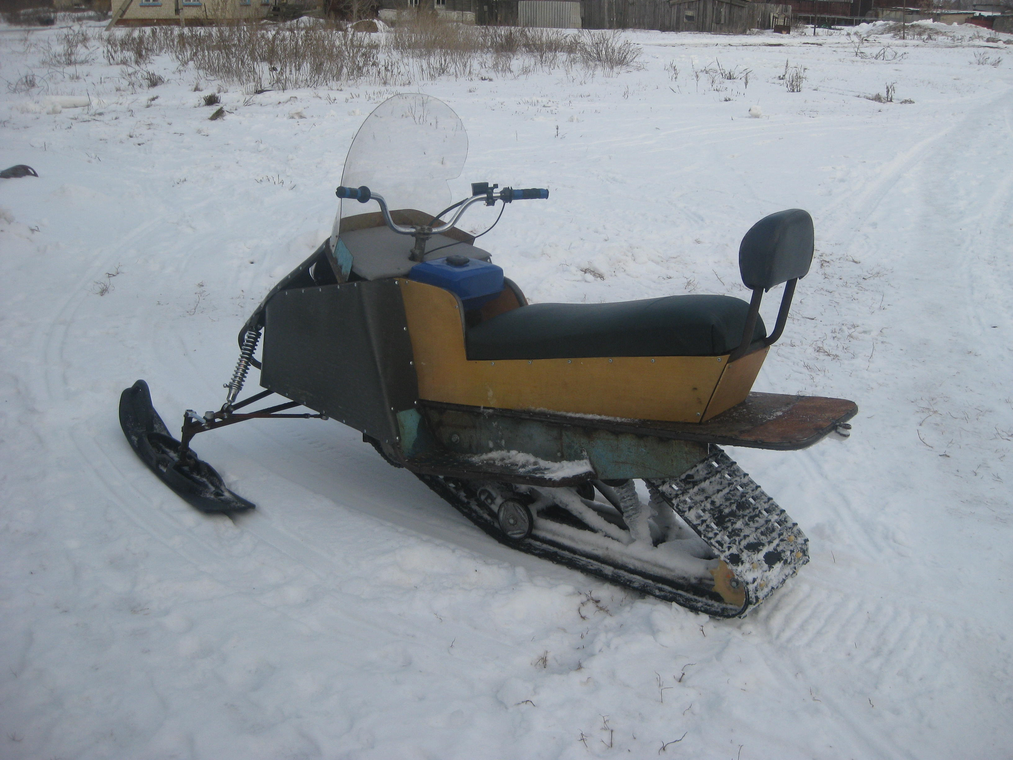 Как сделать склизовую подвеску на снегоходе 127
