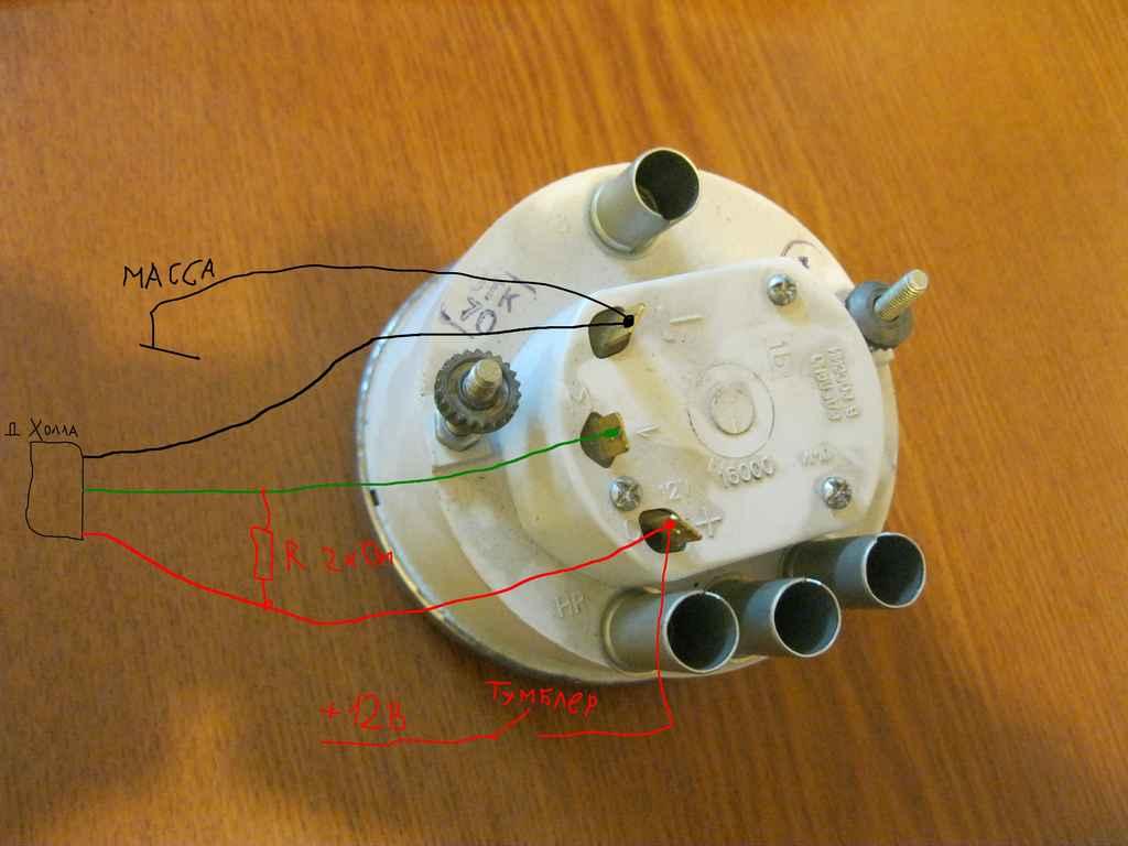 электро схема тахометра ваз 2106 нового образца
