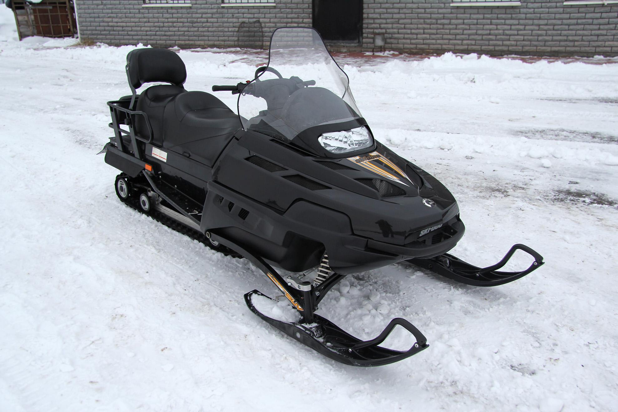 Brp Ski Doo Skandic Suv Www Snowmobile Ru Snegohodnyj