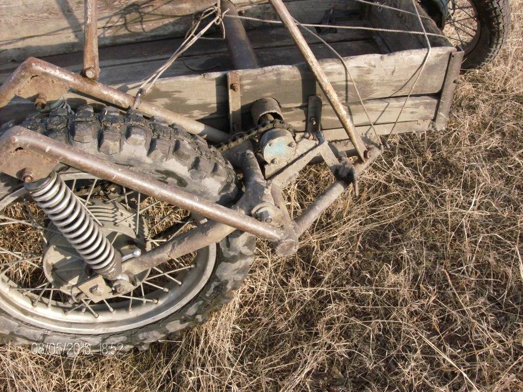 Как сделать привод на коляску 74